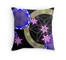 Cube art. Throw Pillow