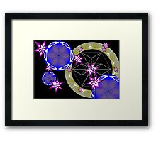 Cube art. Framed Print