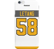Pittsburgh Penguins Kris Letang NHL All-Star White Jersey Back Phone Case iPhone Case/Skin
