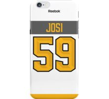 Nashville Predators Roman Josi NHL All-Star White Jersey Back Phone Case iPhone Case/Skin