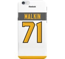 Pittsburgh Penguins Evgeni Malkin NHL All-Star White Jersey Back Phone Case iPhone Case/Skin