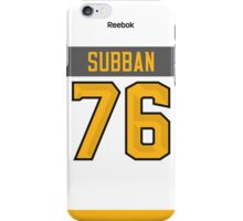 Montreal Canadiens P. K. Subban NHL All-Star White Jersey Back Phone Case iPhone Case/Skin