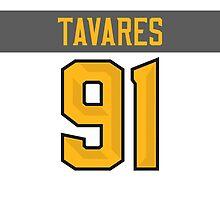 New York Islanders John Tavares NHL All-Star White Jersey Back Phone Case by Russ Jericho