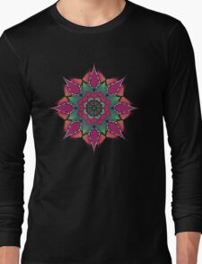 Psychedelic ornament Long Sleeve T-Shirt