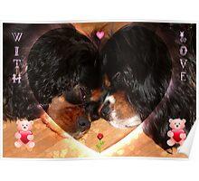 Charlie and Poppy Valentine Poster