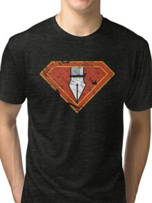 Ps/Ai Superheroes Tri-blend T-Shirt