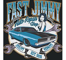 FAST JIMMY AUTO REPAIR SHOP Photographic Print