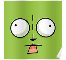Gir Face - Invader Zim Cartoon Poster