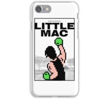 Punch-Out - Little Mac Rocky Poster iPhone Case/Skin