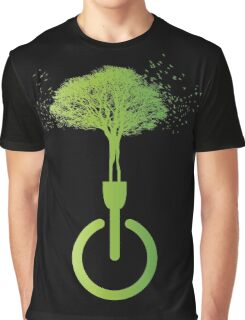 lights OFF life ON Graphic T-Shirt