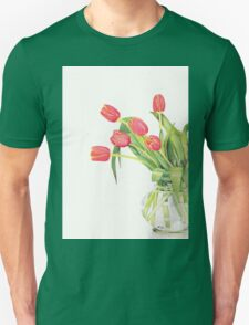 Orange tulips Unisex T-Shirt