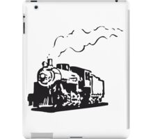 dampflok railroad locomotive romance iPad Case/Skin