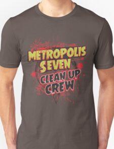 Metropolis Seven Clean Up Crew T-Shirt