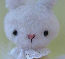 Handmade bears from Teddy Bear Orphans - Missy mouse Sticker