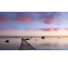 Morning by the sea Photographic Print