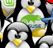 Linux Distro Sticker