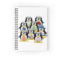 Linux Distro Spiral Notebook