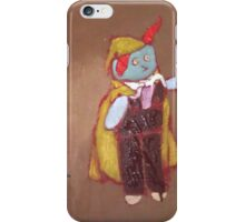 Yellow Cape  iPhone Case/Skin