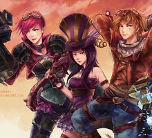 League of Legends - Picture Manga by FullLeague