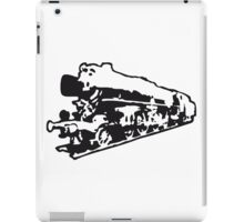 dampflok railroad locomotive old iPad Case/Skin