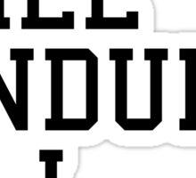 S.W.E.A.T Gym Quote Sticker