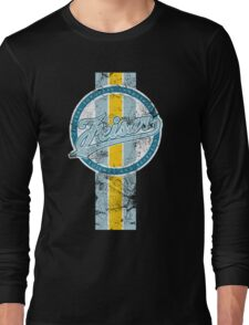 Wipeout - Feisar - 50s Style (With Stripe) Long Sleeve T-Shirt