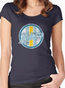 Wipeout - Feisar - 50s Style Women's Fitted Scoop T-Shirt