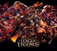 Champion - League Of Legends by FullLeague