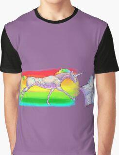 Robot Unicorn Attack Graphic T-Shirt