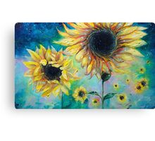 Supermassive Sunflowers Canvas Print