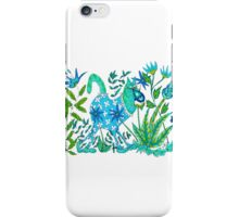 Blue & Green iPhone Case/Skin