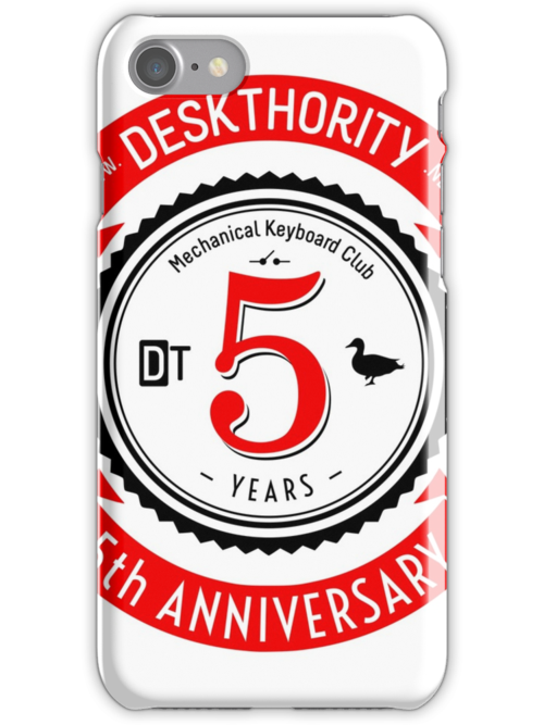 Quot deskthority th anniversary iphone cases skins by