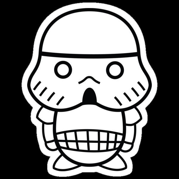 Stormtrooper Cute by geraldbriones