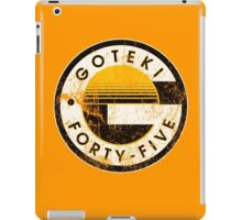 Wipeout - Goteki - 50s Style iPad Case/Skin