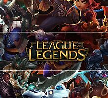 Champions LoL - League Of Legends by FullLeague