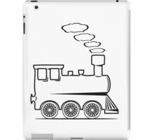 dampflok railroad locomotive toy iPad Case/Skin