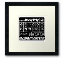 Synthesizer Korg MonoPoly Framed Print