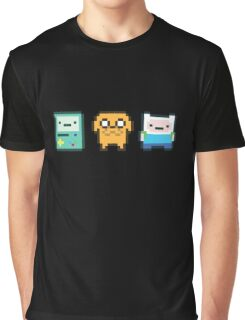 8-bit Jake Finn & Beemo Graphic T-Shirt