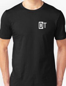 Deskthority Logo Small White T-Shirt