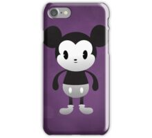 Cute Mickey Black & White iPhone Case/Skin