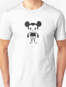 Cute Mickey Black & White Unisex T-Shirt