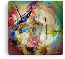 Music Girl Canvas Print