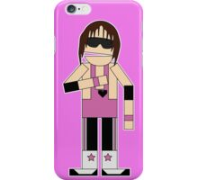 WWE Legend Bret 'The Hitman' Hart (Canadian South Park) iPhone Case/Skin