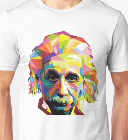 Einstein Technicolor  Unisex T-Shirt