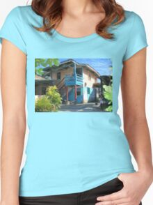 Treva's House Women's Fitted Scoop T-Shirt