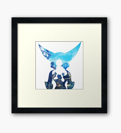 Ratchet and Clank Metropolis Framed Print