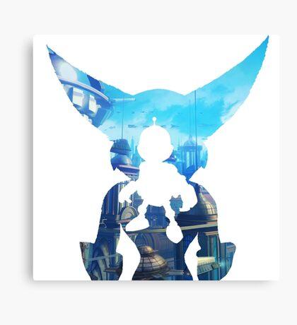Ratchet and Clank Metropolis Canvas Print