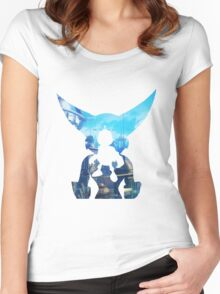 Ratchet and Clank Metropolis Women's Fitted Scoop T-Shirt