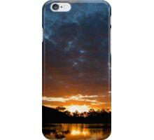 Sunset over the Claypans iPhone Case/Skin