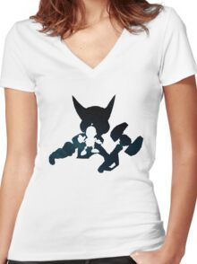 Ratchet and Clank Women's Fitted V-Neck T-Shirt
